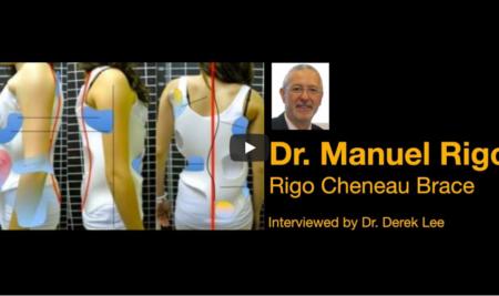 Dr. Manuel Rigo, Creator of the Rigo Cheneau Scoliosis Brace, interviewed by Dr. Derek Lee