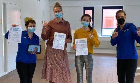 Level 1 course, The Netherlands. Teacher: Ilse de Wilde – Kramer
